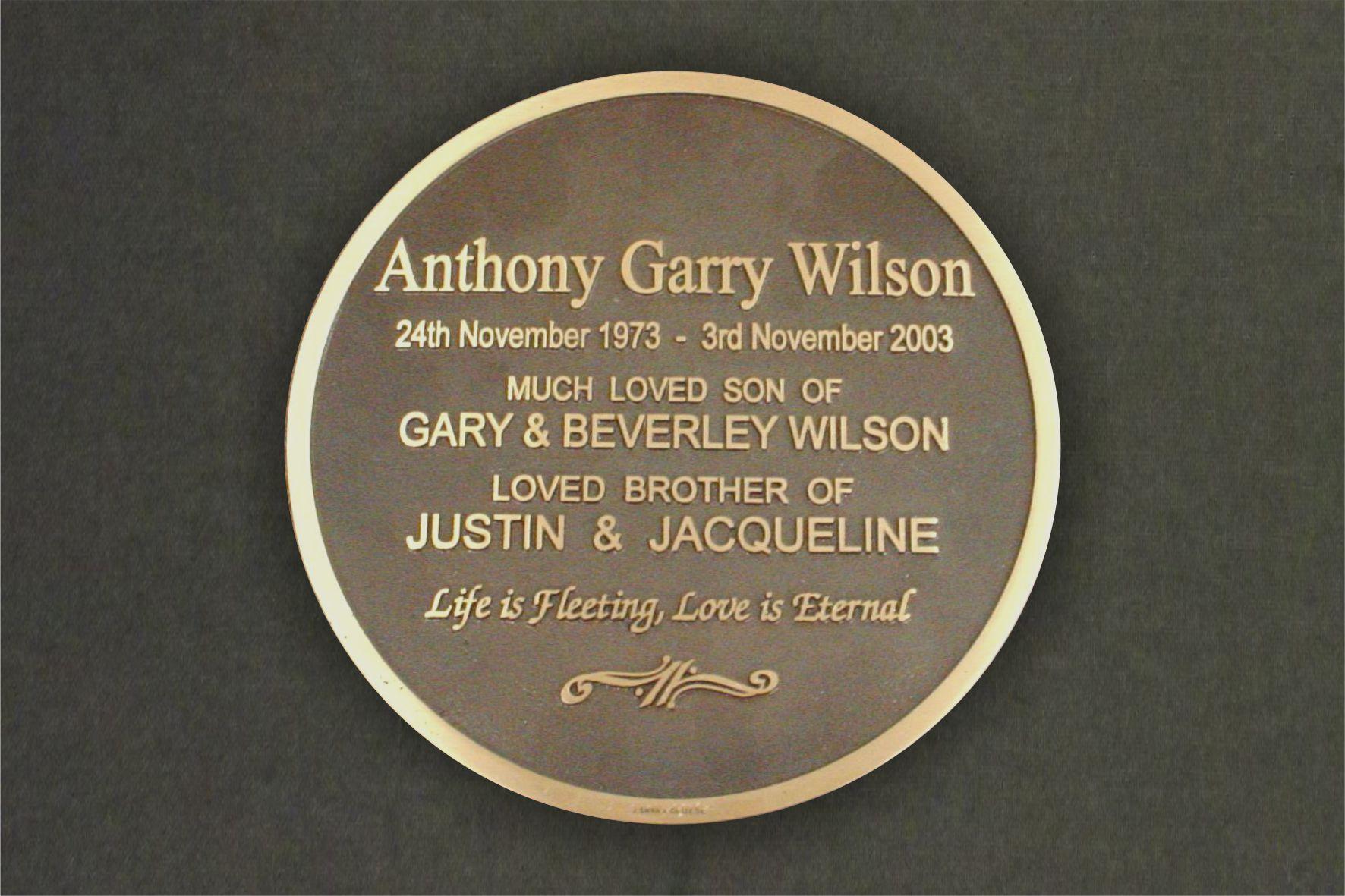 Cast Bronze Plaques John Swan And Company Dunedin New